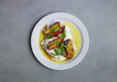 Burrata Peaches