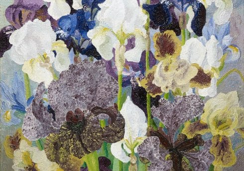 May Flowering Irises No2, 1935, Sir Cedric Morris, © Philip Mould & Company, Cedric Morris Estate