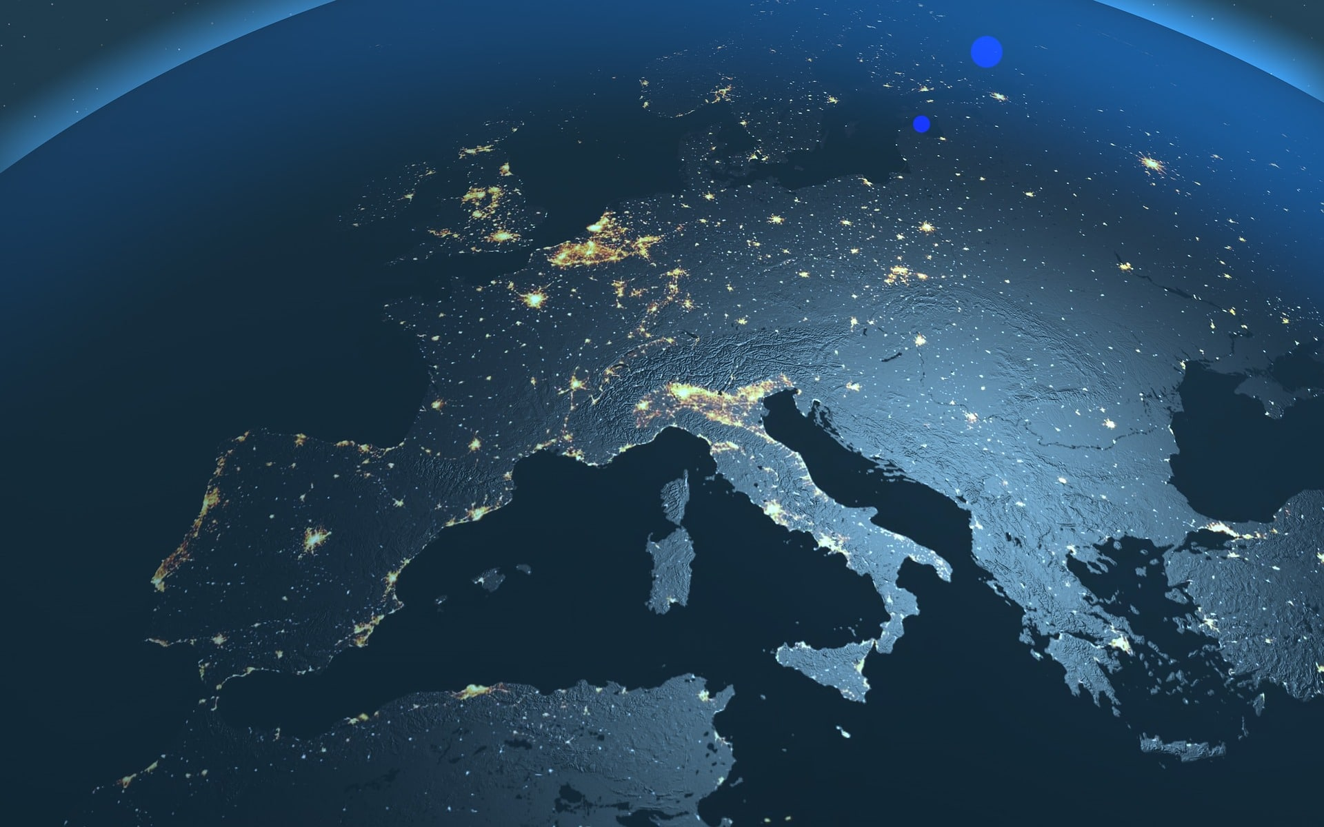Europe at Night - Culture Under the Stars