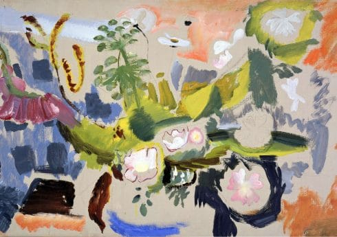 Composition, Wildflowers (c.1939) by Ivon Hitchens, Private Collection © The Estate of Ivon Hitchens. All rights reserved, DACS 2019