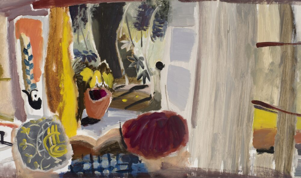 Studio with Open Doors (c.1942) by Ivon Hitchens, Private Collection © The Estate of Ivon Hitchens. All rights reserved, DACS 2019
