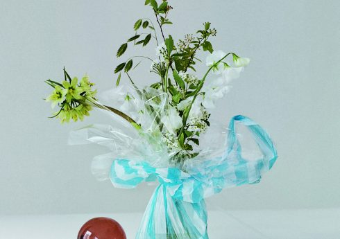Abstract still-life arrangement for a shoot for Burberry Picture credit: courtesy Worm / Photography by Max Cornwall (Art Director: Bob Eaton/Stylist Samuel Pidgen