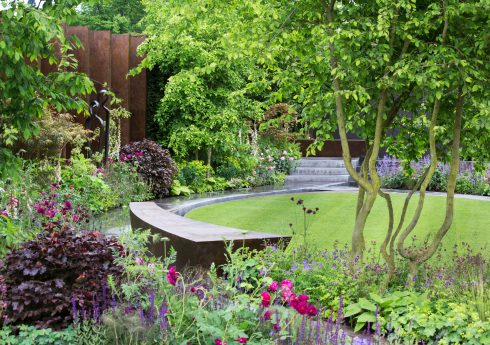 The Chelsea Barrack Gardens,  Designed Jo Thompson , RHS Chelsea Flower Show 2016