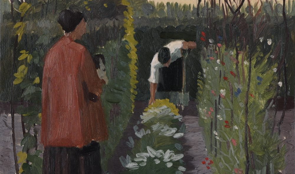 Charles Mahoney (1903-1968), Miss Edith inspects the Sweetpea, c.1934, Image courtesy of Liss Llewellyn